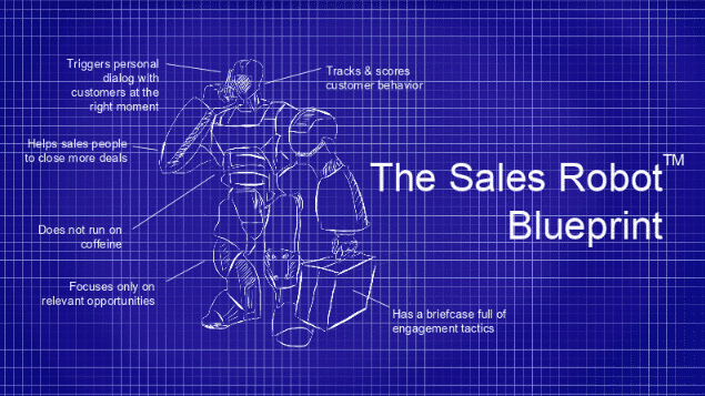 Forget CRM, say hello to the Sales Robot!