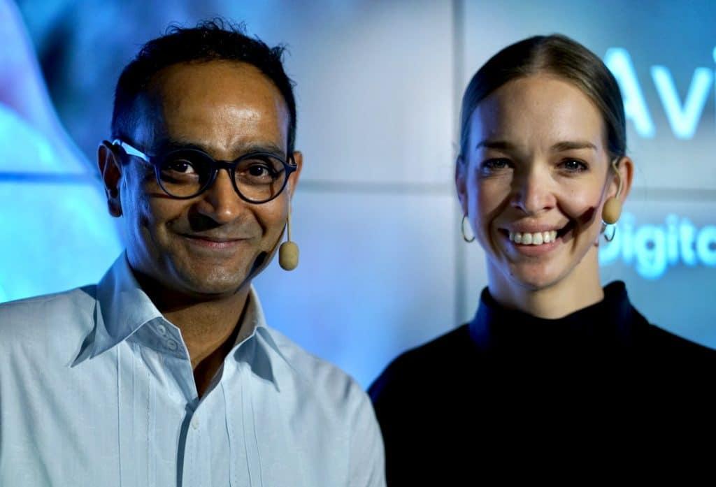 Avinash Kaushik & Emma Storbacka @Avaus Expert Talks 2019