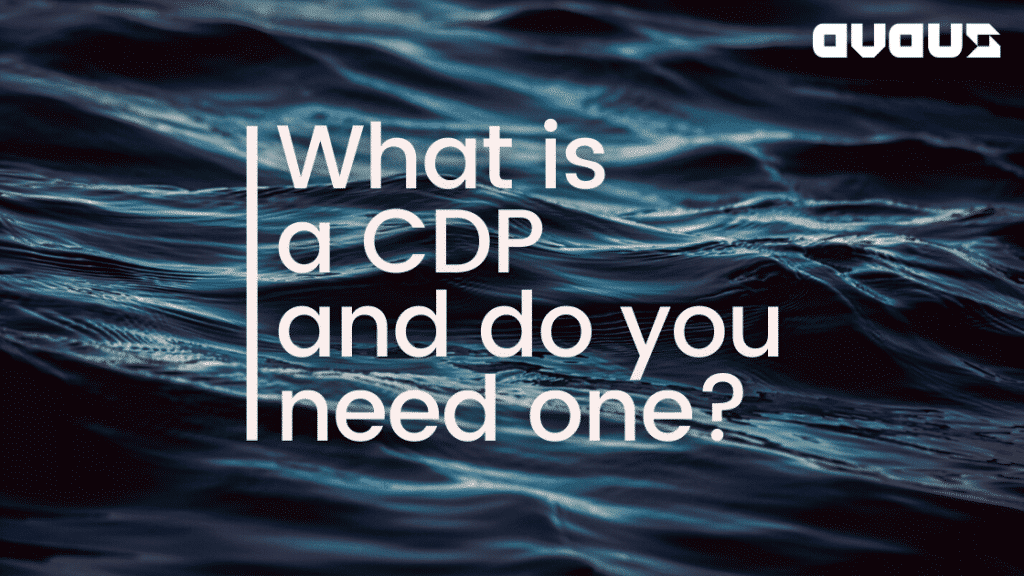 What is a CDP and do you need one?