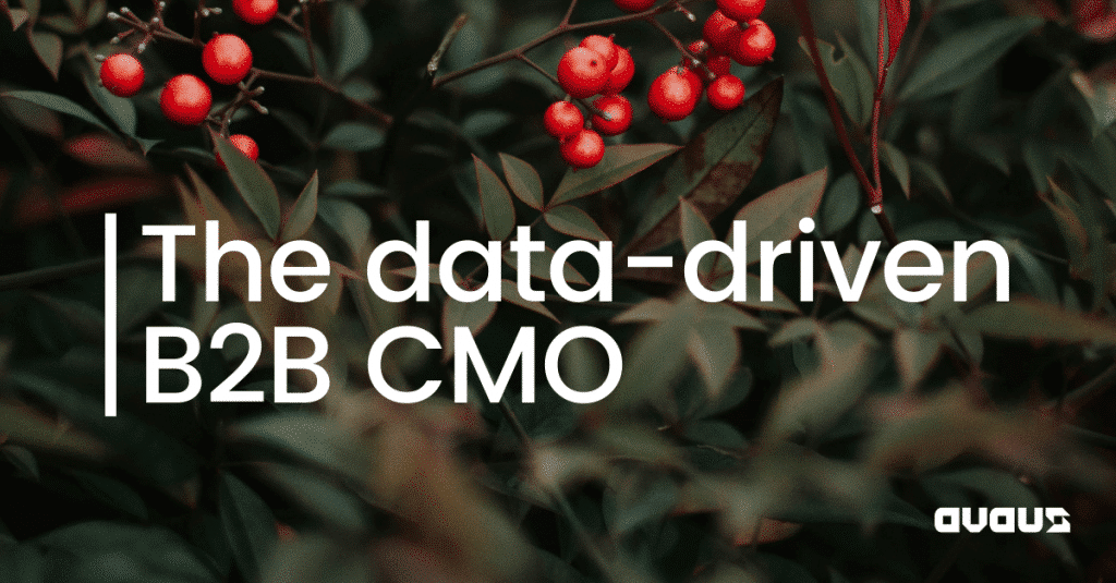 The data-driven B2B CMO